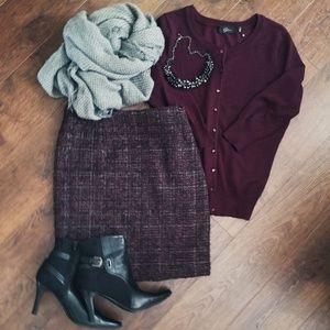 Amanda & Chelsea Skirts - Amanda & Chelsea Tweed Skirt